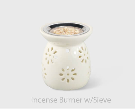 Incense Burner w Sieve