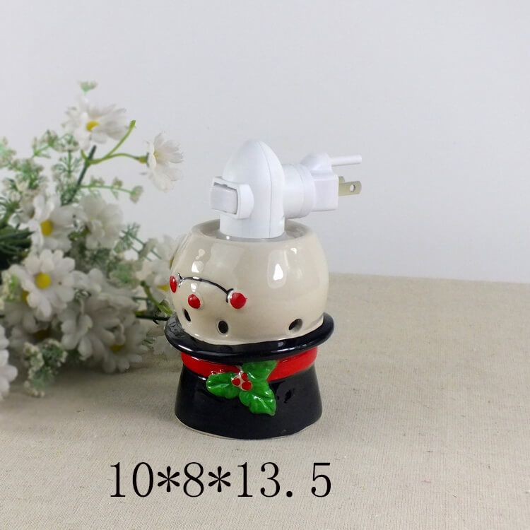 snowman fragrance warmer
