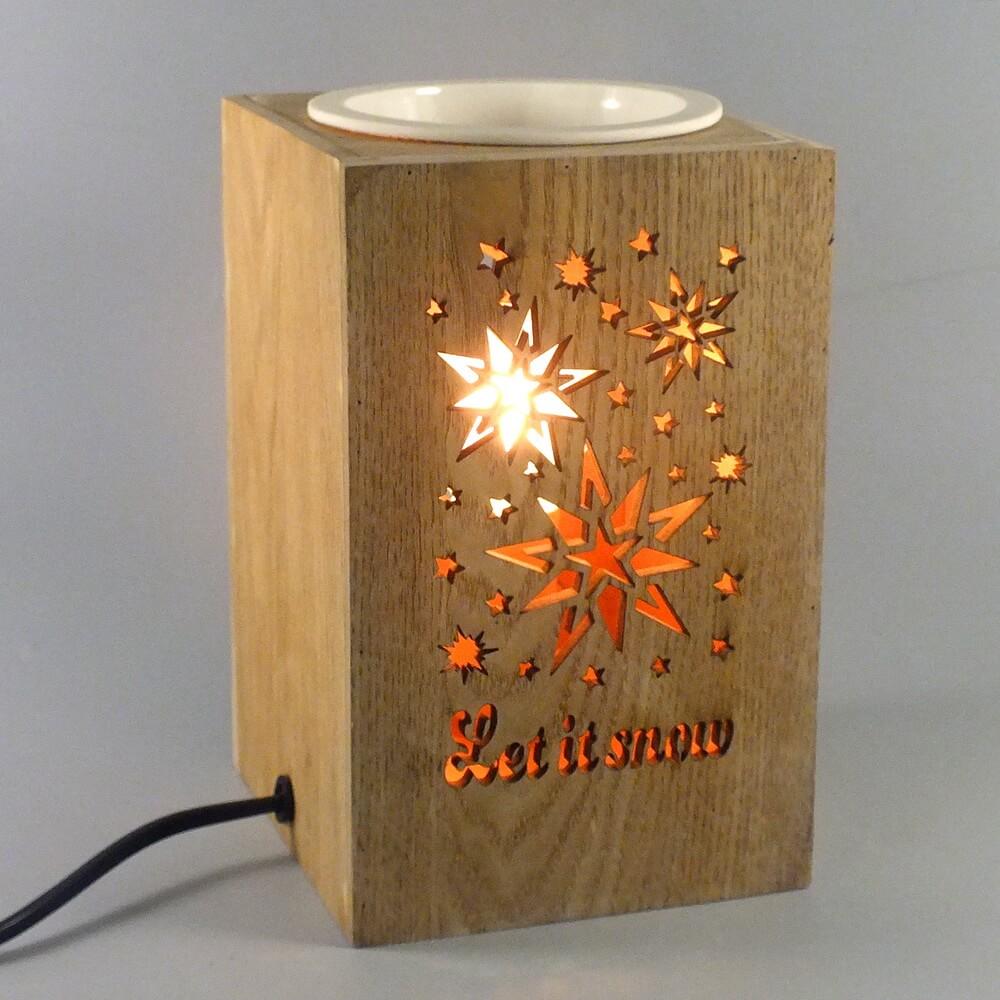 GEB180933C68 Wooden Wax Warmer