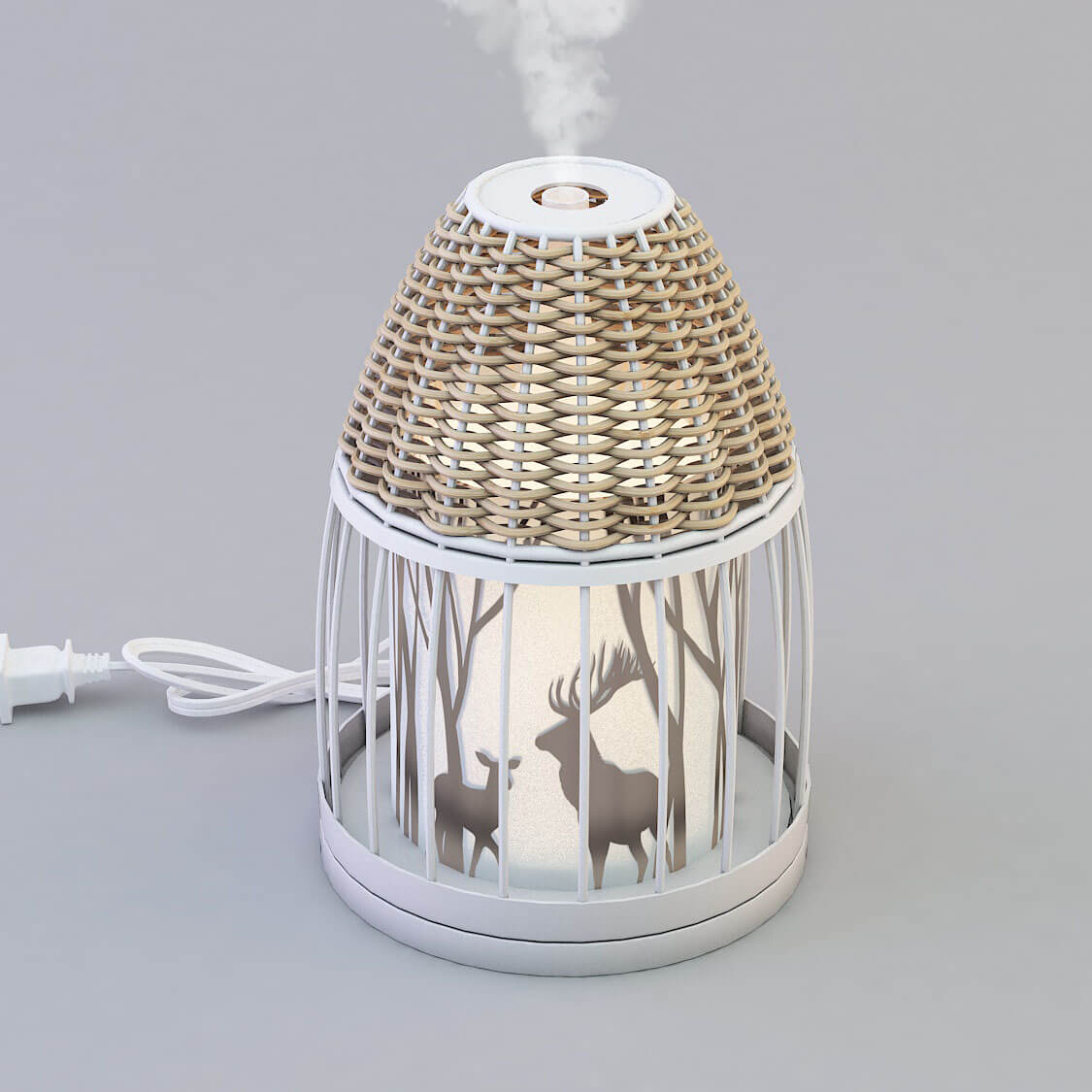 Marketing Metal Material Aroma Essential Oil Diffuser GLEA2122M-Z